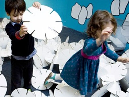 The Children's Museum of Manhattan offers holiday and seasonal programming for little ones.