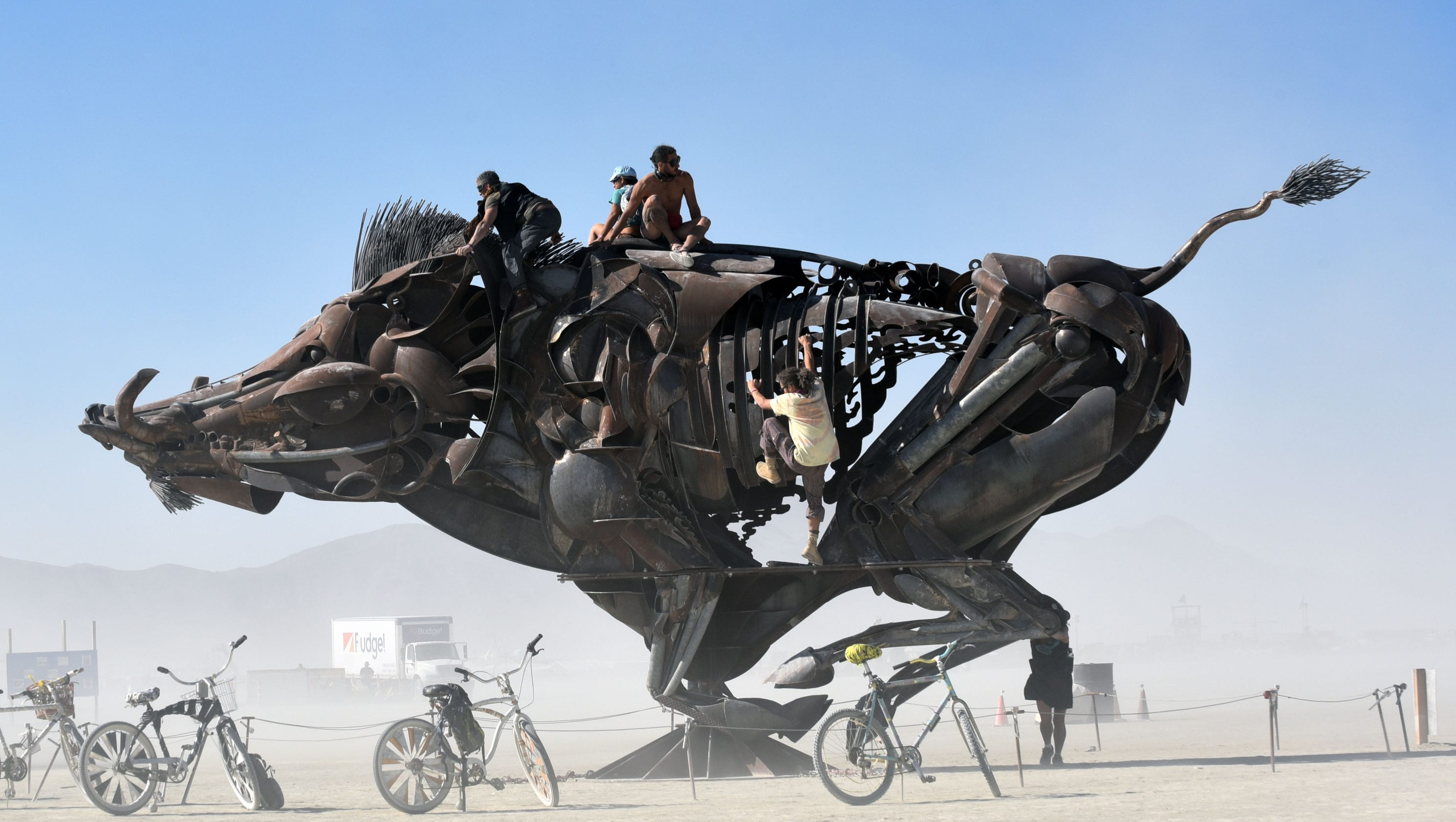 Burning Man in photos, from the fabulous to the far-out