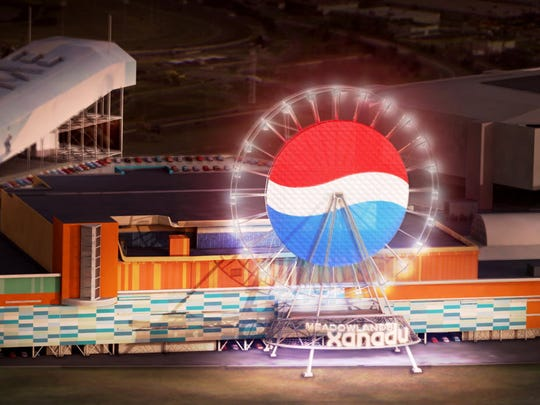 A decade ago, the observation wheel planned for Meadowlands Xanadu was to be called the Pepsi Globe.
