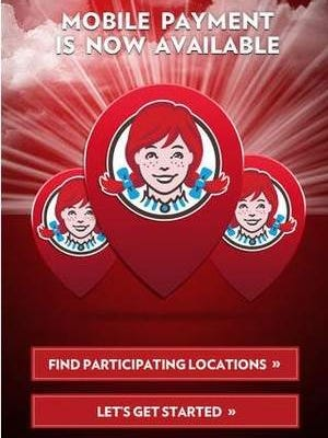 Wendy's restaurants in Sioux Falls are taking mobile payments.