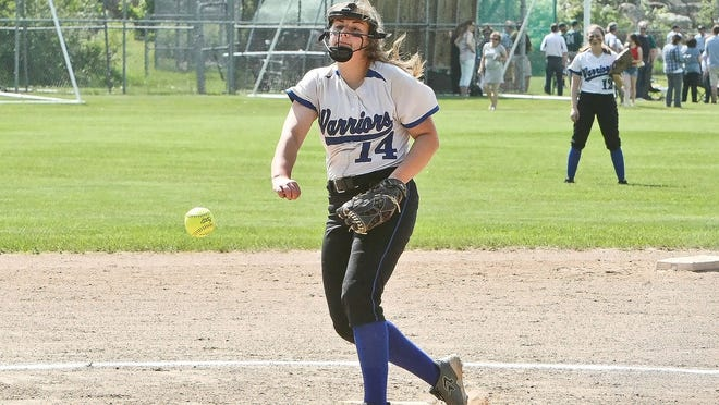 Though her fourth and final season with the Narragnsett Regional softball team was cancelled due to the coronavirus pandemic, Sydney Chenoweth plans to continue her softball career with Western Connecticut State University at the NCAA Division III level next year.