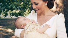HANDOUT PHOTOTHE CHRISTENING OF PRINCE LOUISTHE OFFICIAL