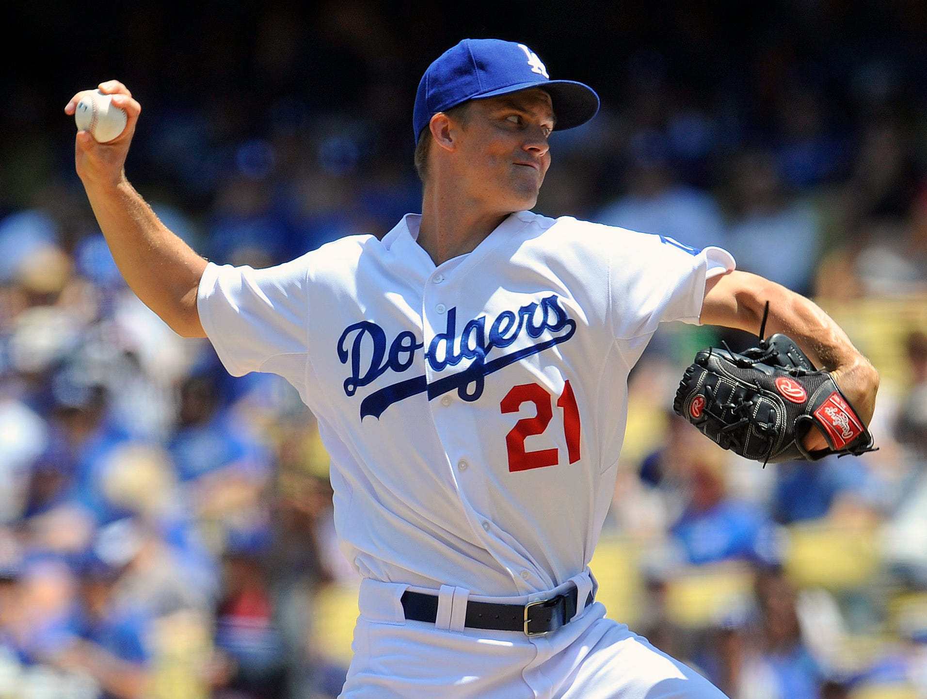 2013-08-10 Zack Greinke Dodgers