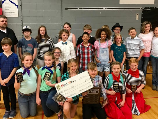 Fourteen couples competed in the 2018 Valley View Jitterbug