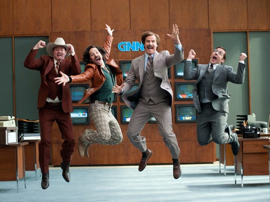 Review: 'Anchorman 2: The Legend Continues'