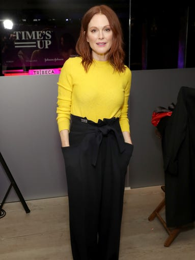 """Julianne Moore attended the """"Time's Up"""" event during"""