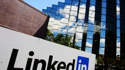 In this Monday, May 9, 2011 file photo, LinkedIn Corp.,