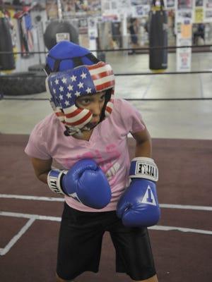 Atiana 'The Dream' Edwards trains for the 2016 Junior Olympics.