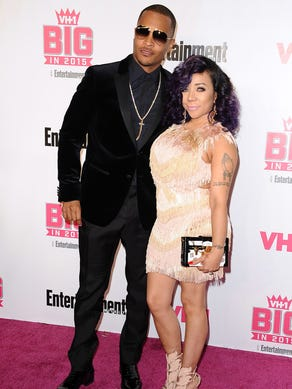 "Rapper T.I. and Tameka ""Tiny"" Cottle-Harris have a"