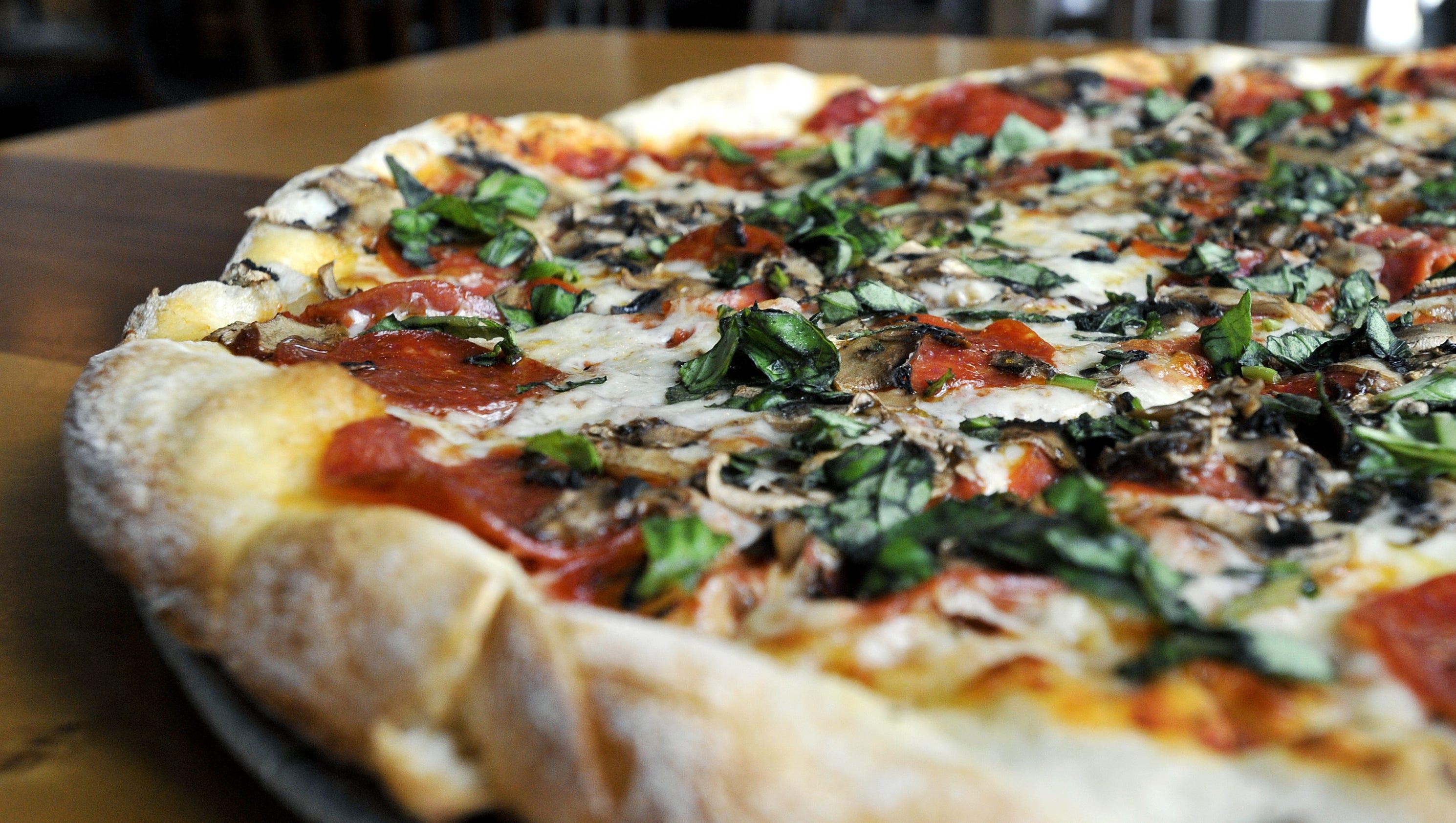 standard pizza now open in south asheville. Black Bedroom Furniture Sets. Home Design Ideas