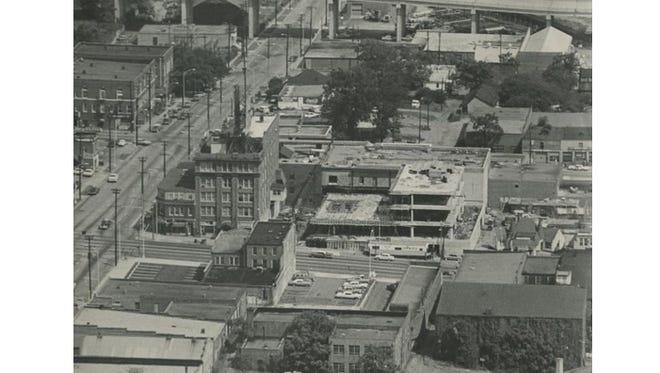 Greenville News building 1967