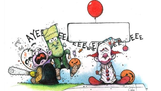 Halloween Comic Caption