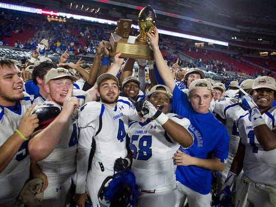 State champion Chandler expected to have six seniors sign ...