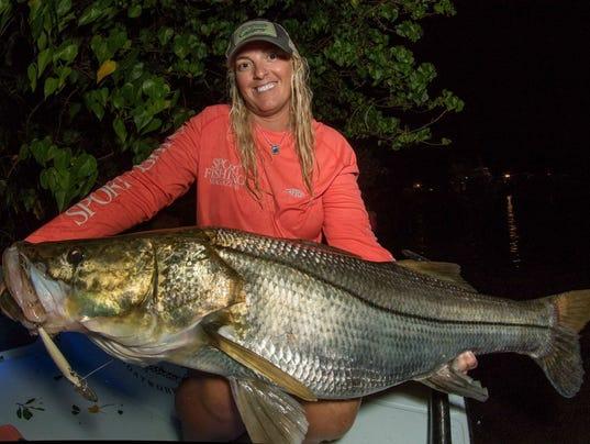 Treasure coast fishing report spillways call the snook for Treasure coast fishing report