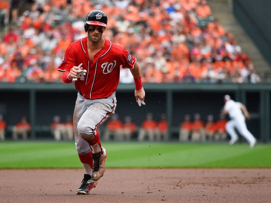 Bryce Harper is the clear favorite to win the NL MVP