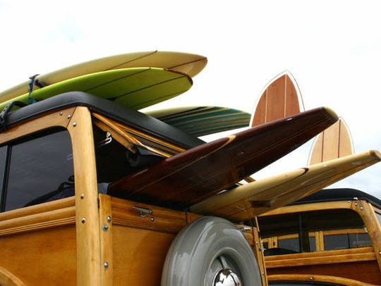 Bring your classic or vintage beach vehicle or board