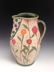 Flower vase by Renee Schwaller