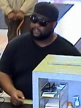 Farmington Hills Police released this photo of a bank robbery suspect.