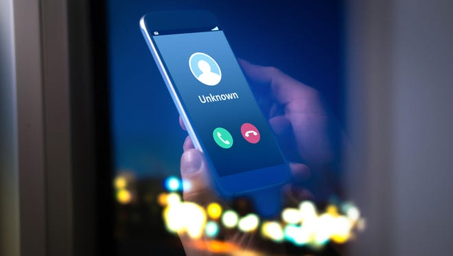 Unknown number calling