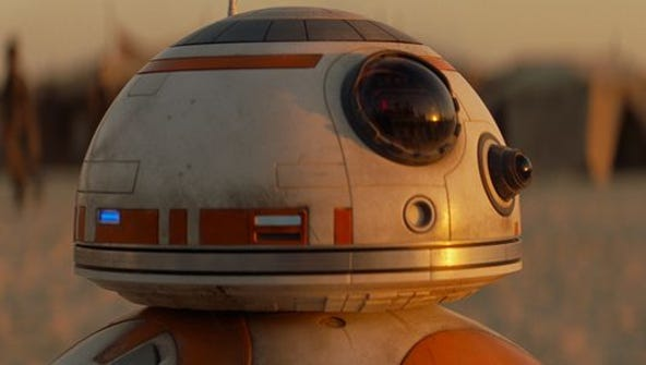 BB-8 is one of the new characters powering 'Star Wars: