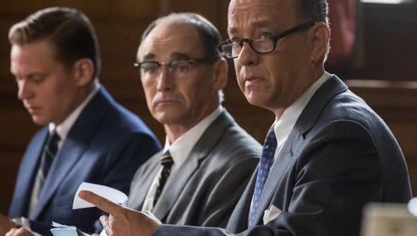 Tom Hanks (right) and Mark Rylance in 'Bridge of Spies'