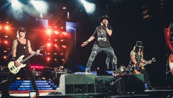 Guns N's Roses brings its Not in This Lifetime tour