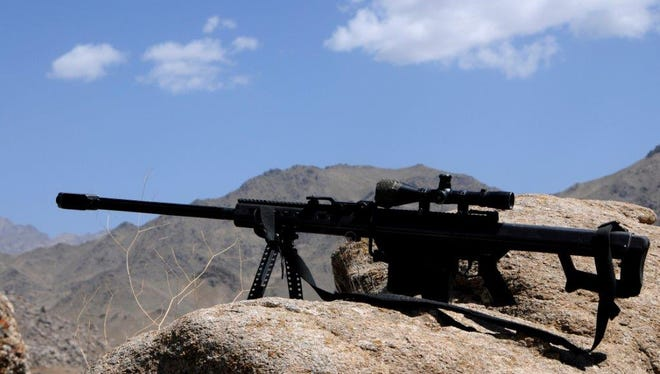 The Barrett M82 sniper rifle became Tennessee's official state rifle on Wednesday. Pictured is the U.S. military's version of the weapon.
