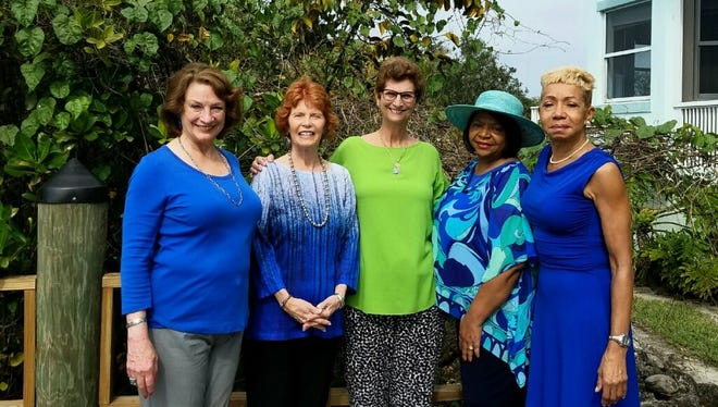 Event committee members are, from left, Jacquelyn Sanchez, J.C. Stern, Debbie Robinson, Eula Clarke, and Roslyn Carter.