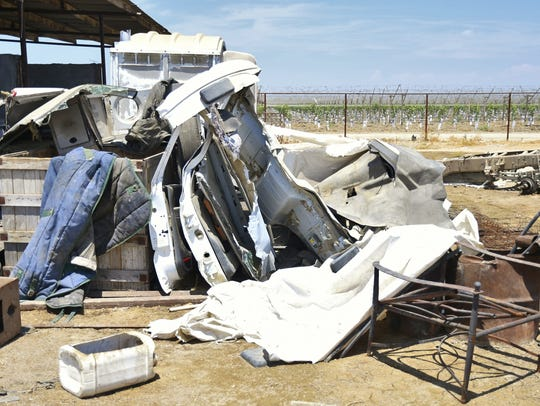 TRATT investigators uncovered a large chop shop in