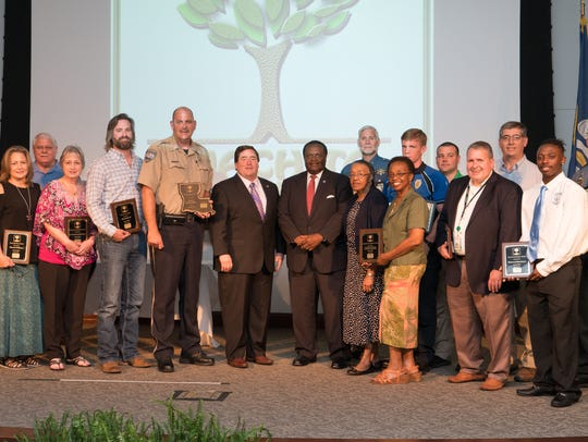 Ouachita Green honored multiple individuals and groups