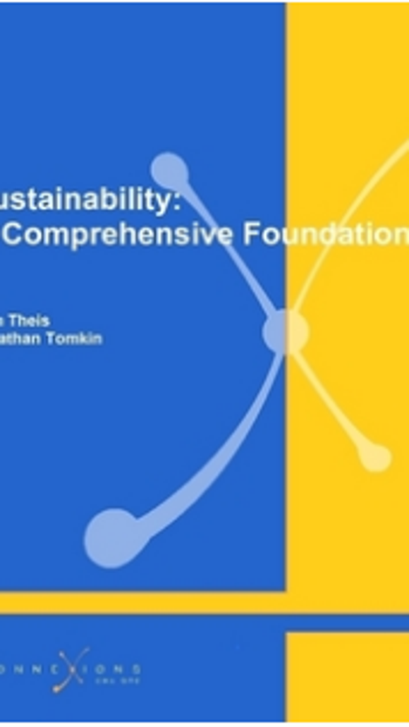 Sustainability: A Comprehensive Foundation