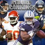NFL rebuild rankings: Which teams are in best shape for next season?