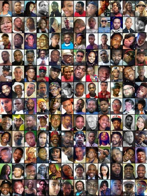 The number of Memphis homicides has skyrocketed in 2016.Here are the faces of 144 of the victims.