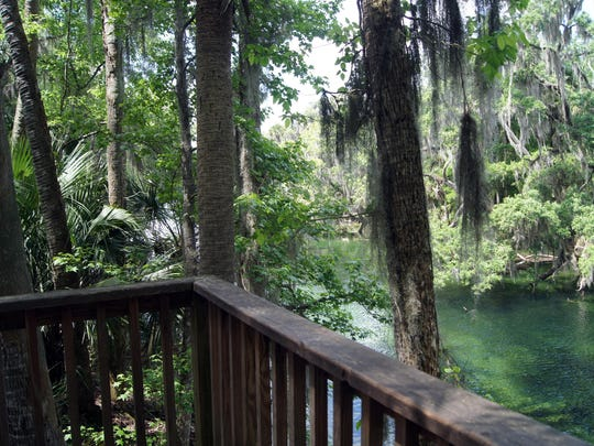 Blue Spring State Park in Orange City is the first