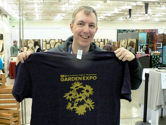 Eric Ernst of WPT and this year's T-shirt