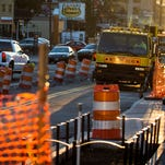 Crews to remove buried trolley tracks on Cumberland Ave.