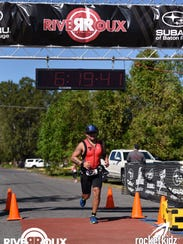 Justin Faircloth is running the Ironman 70.3 in his