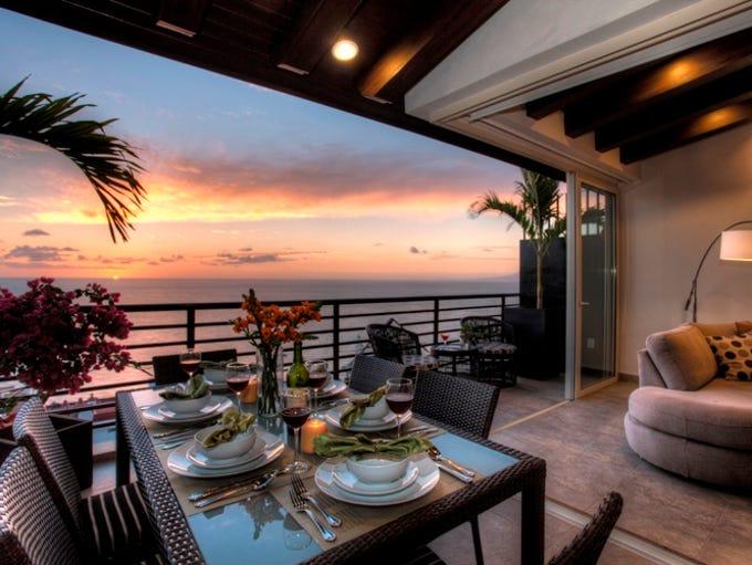 This two-bedroom rental in Puerto Vallarta, Mexico,