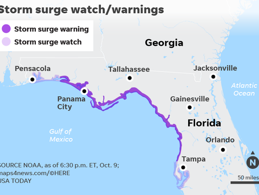 Hurricane Michael A Category 4 In The Making