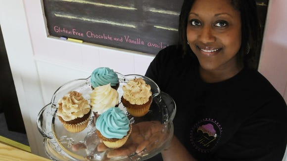 Tish Leonard and her husband, Quincy, started Cupcakes