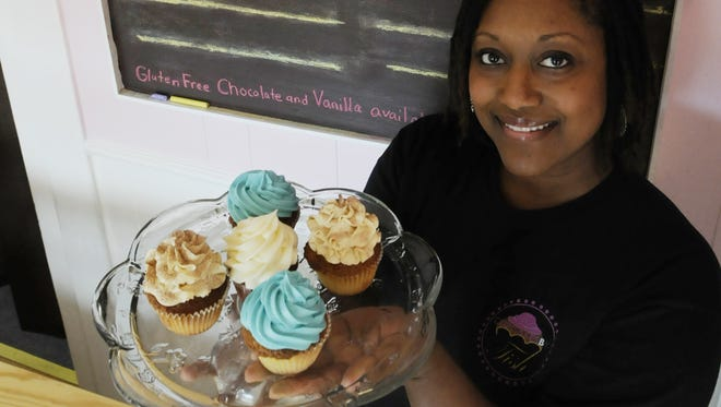 Tish Leonard and her husband, Quincy, started Cupcakes by Tish in 2011.