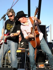 Cooder Graw performs during the 2017 Outlaws & Legends
