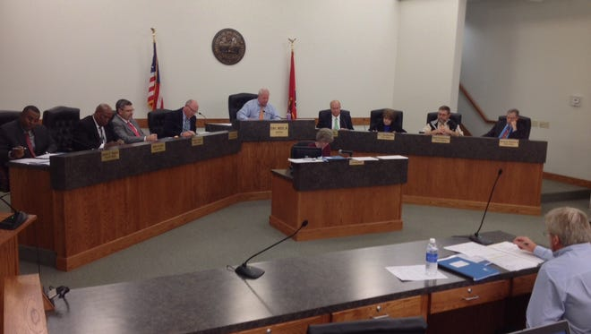 The Dickson City Council met Dec. 7 in City Hall.