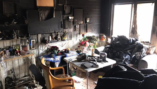 The Phoenix Fire Department and Phoenix Police Department are rallying around a family that lost everything in a south Phoenix house fire on Dec. 15, 2016.