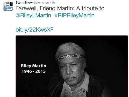Howard Stern Show' alien expert Riley Martin dead at 69