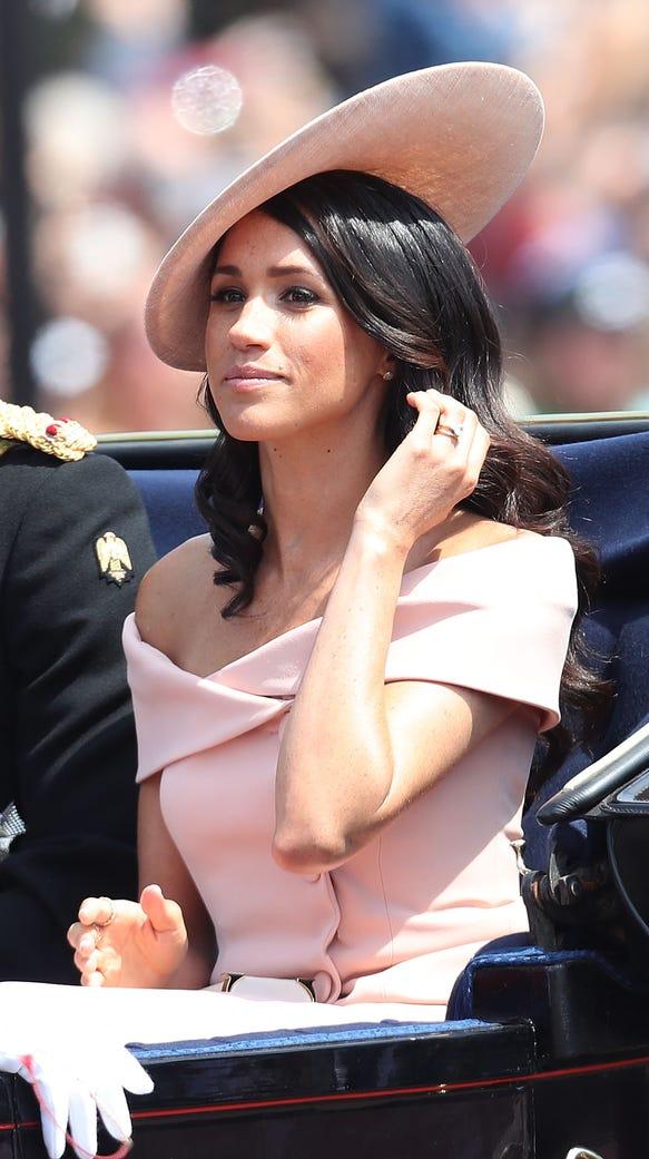 Meghan, Duchess of Sussex heading back to Buckingham