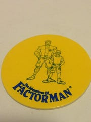Few images remain of Factor Man, but as this photo