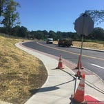 Work is being completed along the Sussex Turnpike and West Hanover Avenue intersection.