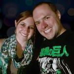Sarah Rohr and Aaron Greufe
