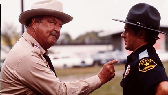 Jackie Gleason, left, was the ultimate Smokey in 'Bandit.'